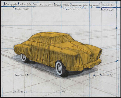 Javacheff Christo, 'Wrapped Automobile, Project for Studebaker', 2015