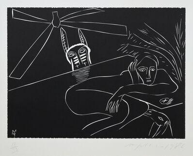Mimmo Paladino, 'Terra Tonda Africana No 2 ', 1986