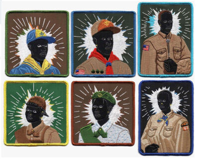 Kerry James Marshall, 'Set of Scout Series Embroidered Patches', 2017
