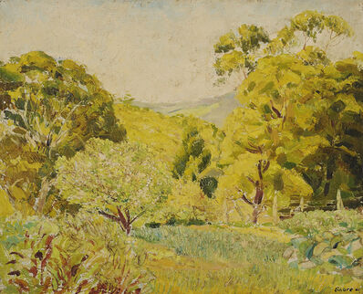Arnold Shore, 'Mt Macedon Garden', 1941