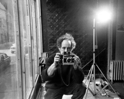 Allen Ginsberg, 'Robert Frank in his studio, New York City', 1984