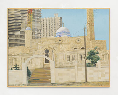 Philip Pearlstein, 'Mosque and New Construction, Tel Aviv', 1997