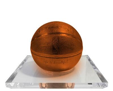 Mr. Brainwash, 'Basketball-Orange', 2020