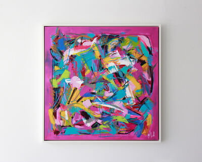 """Jacqueline Jandrell, '""""Allure"""" - Mixed Media on Canvas', 2020"""