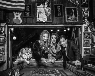 David Yarrow, 'Roll the Dice', 2020