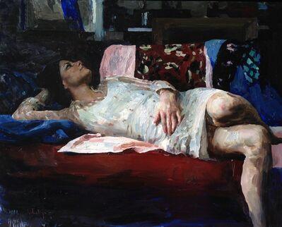 Hollis Dunlap, 'Susan in red, white, and blue', 2017