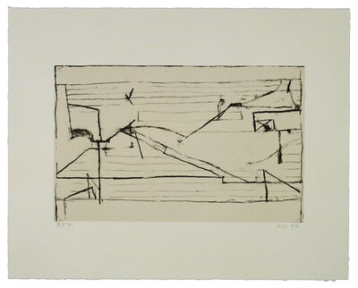 Richard Diebenkorn, 'Untitled #9', 1993