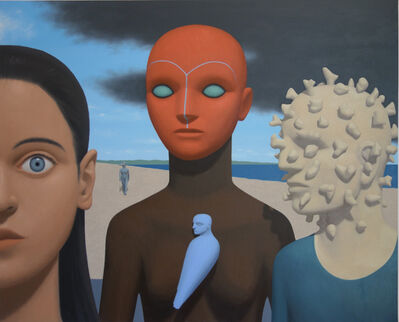 Pierre Monestier, '5 Figures', 2017