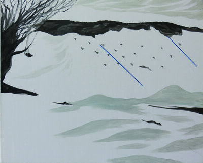 Chen I-Chun, 'The Herd of Wolves on a Distant Mountain', ca. 2018