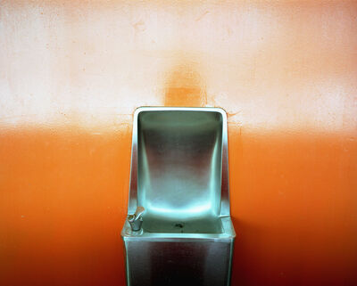 Lisa Kereszi, 'Orange Water Fountain, PS26, Governor's Island', 2003