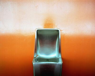 Lisa Kereszi, 'Orange Water Fountain, PS26, Governor's Island', 2003
