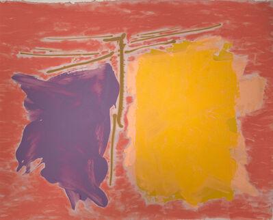 Dan Christensen, 'Crimson and Clover', 1980