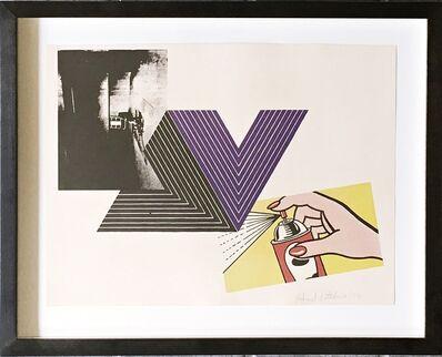 Richard Pettibone, 'The Appropriation Print  (Andy Warhol, Frank Stella, Roy Lichtenstein)', 1970