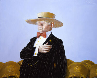 Julio Larraz, 'For Flag and Country ', 2003