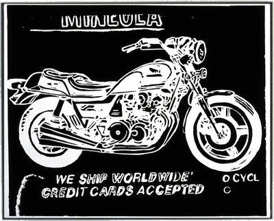 Andy Warhol, 'Mineola Motorcycle', 1985-1986