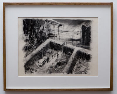 William Kentridge, 'The Building Site', 1987