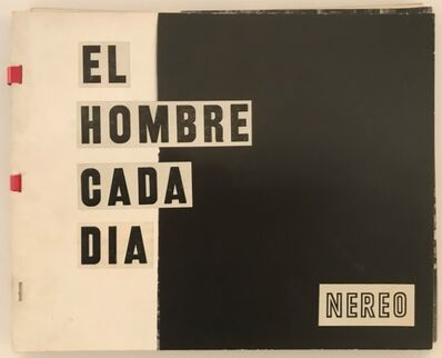 Nereo López, 'Original model for an exhibition catalogue planned in Spain', ca. 1960