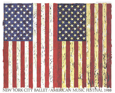 Jasper Johns, 'New York City Ballet / American Music Festival (1988)', 1988