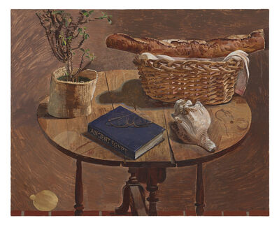 Kent O'Connor, 'Oval Table with French Bread Basket', 2019