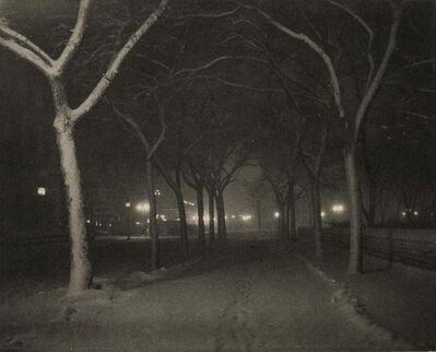Alfred Stieglitz, 'Icy Night, New York', 1898