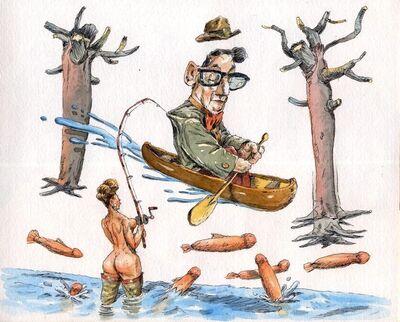 John Cuneo, 'Spawning', 2006