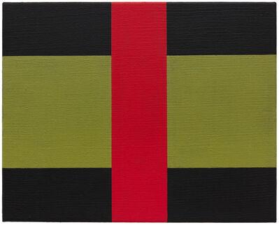 Helmut Federle, 'Basics on Composition N (The Big Red)', 2020