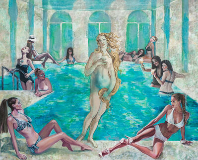 Nikolina Kovalenko, 'Dress Code. Swimming pool.', 2014