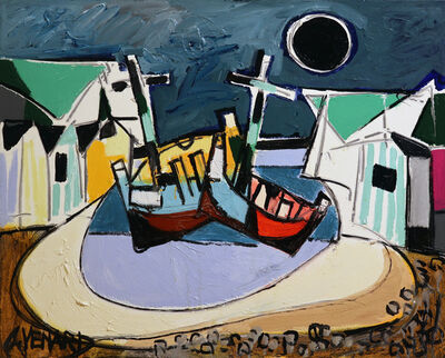 Claude Venard, 'Les cabines', 1992
