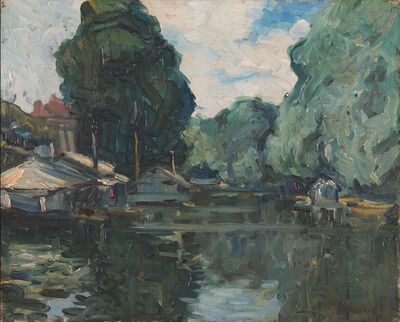 Francis Picabia, 'Sans titre', circa 1902