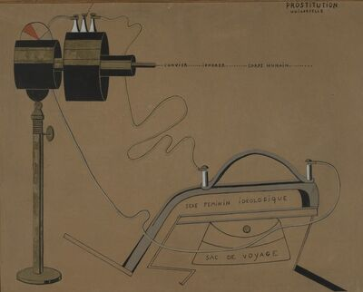 Francis Picabia, 'Prostitution Universelle (Universal Prostitution)', 1916-1917
