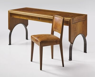 Eugène Printz, 'Desk and Chair', circa 1930