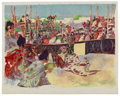 Alexandre Lunois, 'La Corrida:  Une corrida à la campagne (A Country Bullfight)', 1897