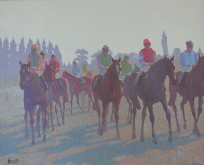 Peter Howell, 'Horses at Deauville', Late 20th Century