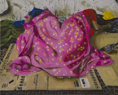 Glaucia Leme, 'The drapey as home shelter, refuge II', 2019