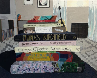 Hilary Pecis, 'Living Room Book Stack ', 2017