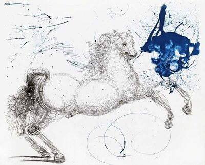 Salvador Dalí, 'Mythology Suite: Pegasus', 1964