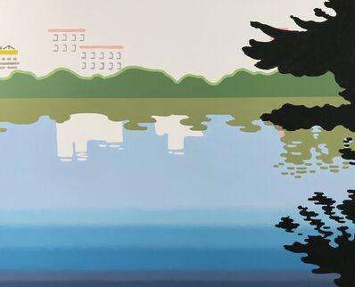 Nobuyuki Takahashi, 'A Park with Pond', A Park with Pond