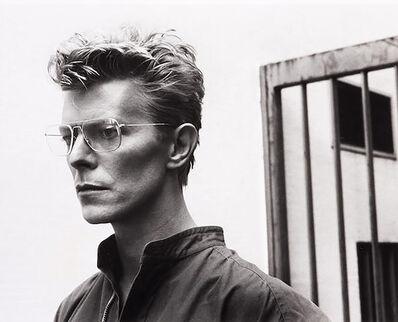 Helmut Newton, 'Portrait of David Bowie, Monte-Carlo (signed)', 1982