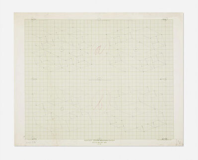 Josef Albers, 'Study / Sketch for a Structural Constellation II', ca. 1969