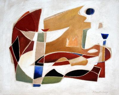Angelika Kandler Seegy, 'Der weiße Faden1'