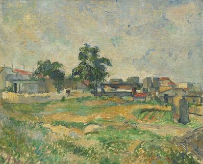 Paul Cézanne, 'Landscape near Paris', ca. 1876
