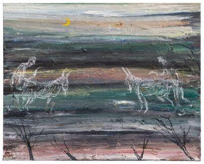 Philippe Vandenberg, 'Étude pour la grande faim de l'âne (Study for the donkey's great hunger)'
