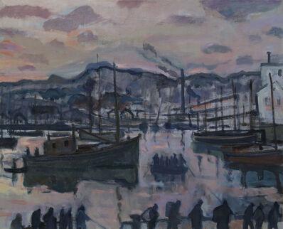 Bernard Lamotte, 'Fishermen at Dawn', 20th Century