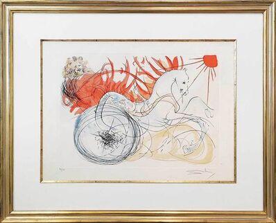Salvador Dalí, 'Feuerwagen des Elias', 1975