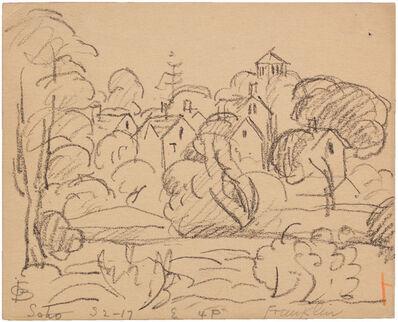 Oscar Bluemner, 'SOHO, FRANKLIN', 1917