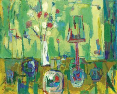 Liao Chi-Chun 廖繼春, 'Still Life 靜物', 1965