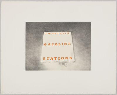 Ed Ruscha, 'Twentysix Gasoline Stations', 1970