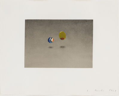 Ed Ruscha, 'Marble, Olive', 1969