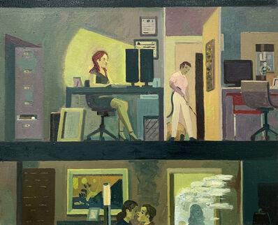 Aaron Zulpo, 'Working Late', 2019