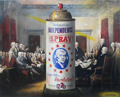 Ben Steele, 'Independence Spray', 2019